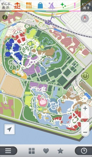 Map for TDR