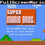 Full Screen Mario」