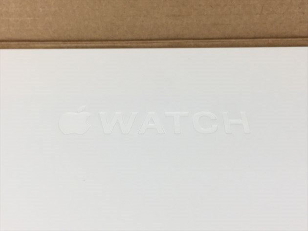 Apple Watchの刻印
