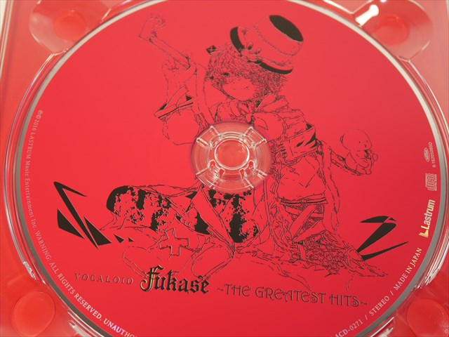 VOCALOID Fukase ~THE GREATEST HITS~のディスク CD