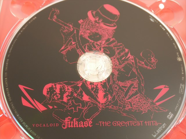 VOCALOID Fukase ~THE GREATEST HITS~のディスク DVD