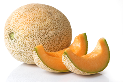 カンタロープ Cantaloupe Whole With Slices